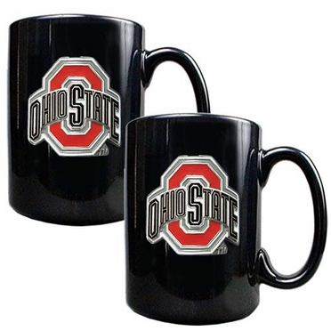 Ohio State 2 Piece Coffee Mug Set