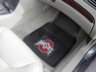 Ohio State 2 Piece Heavy Duty Vinyl Car Mats