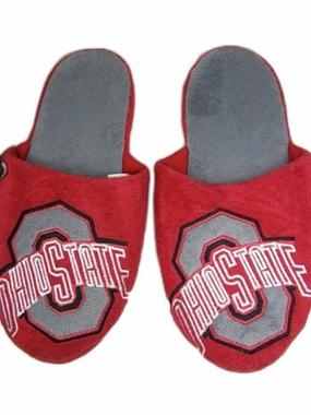Ohio State 2011 Big Logo Hard Sole Slippers (Two Tone)