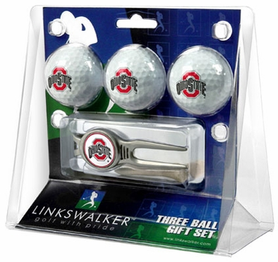 Ohio State 3 Ball Gift Pack With Kool Tool