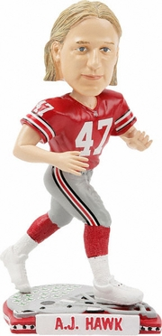 Ohio State A.J. Hawk Back To School Bobblehead