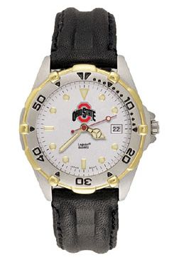 Ohio State All Star Mens (Leather Band) Watch