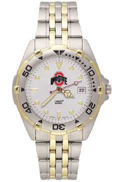 Ohio State All Star Mens (Steel Band) Watch