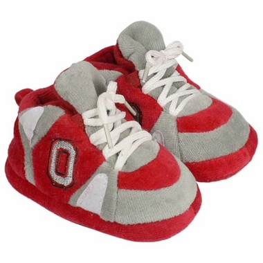 Ohio State Baby Slippers