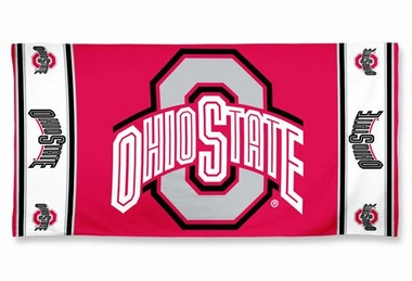 Ohio State Buckeyes Beach Towel