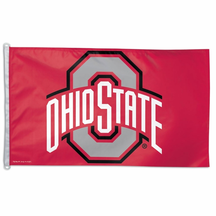 Ohio State Big 3x5 Flag