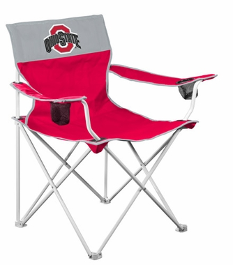 Ohio State Big Boy Adult Folding Logo Chair
