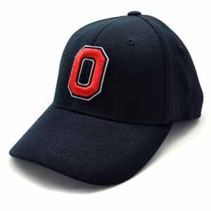 Ohio State Black Premium FlexFit Baseball Hat - Small / Medium