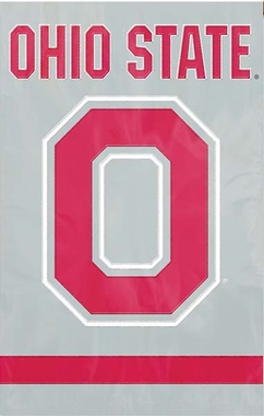 Ohio State Applique Banner Flag