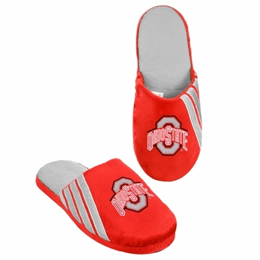 Ohio State Buckeyes 2012 Team Stripe Logo Slippers