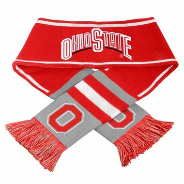 Ohio State Buckeyes NCAA 2013 Team Wordmark Knit Scarf