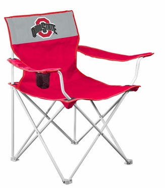 Ohio State Canvas Adult Folding Logo Chair