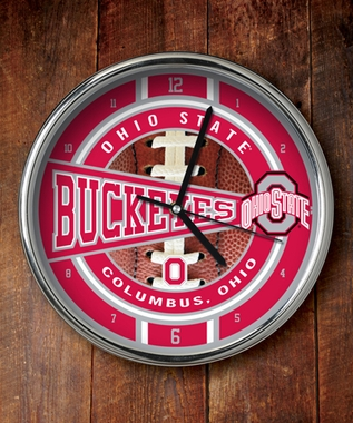 Ohio State Chrome Clock