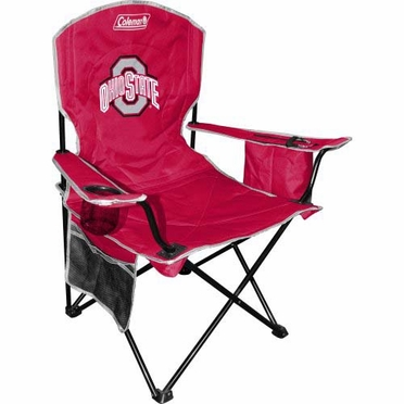 Ohio State Cooler Quad Tailgate Chair