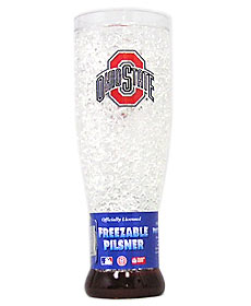 Ohio State Crystal Pilsner Glass