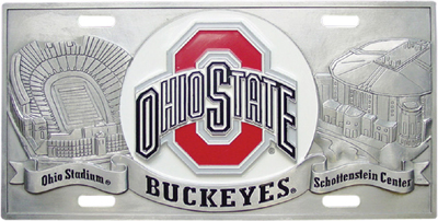 Ohio State Deluxe Collector's License Plate