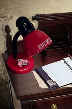 Ohio State Dorm Lamp
