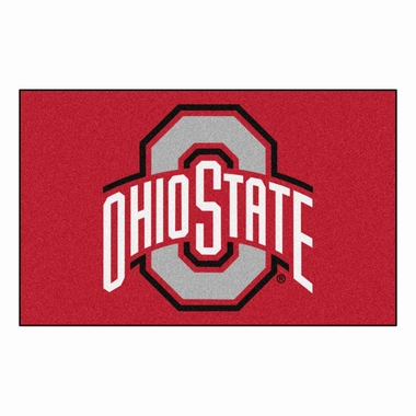 Ohio State Economy 5 Foot x 8 Foot Mat