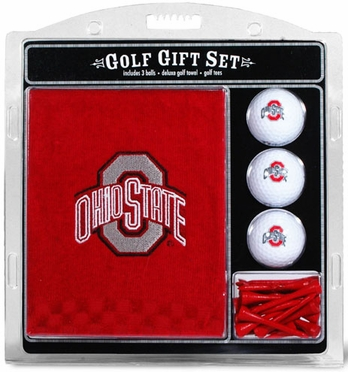 Ohio State Embroidered Towel Gift Set