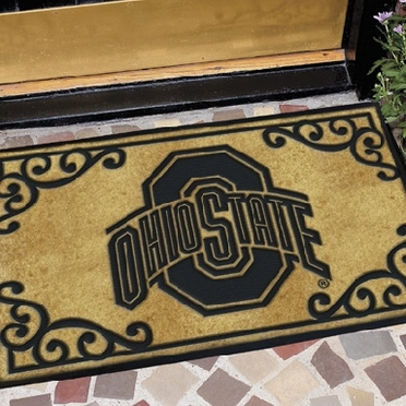 Ohio State Exterior Door Mat