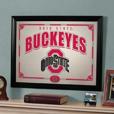 Ohio State Framed Mirror