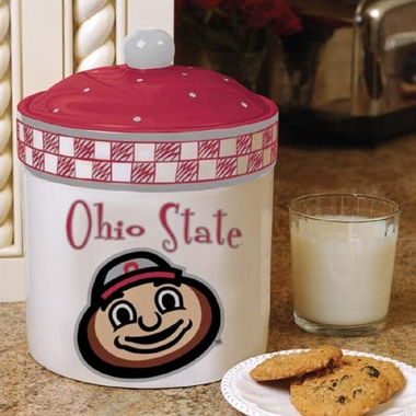 Ohio State Gameday Ceramic Cookie Jar