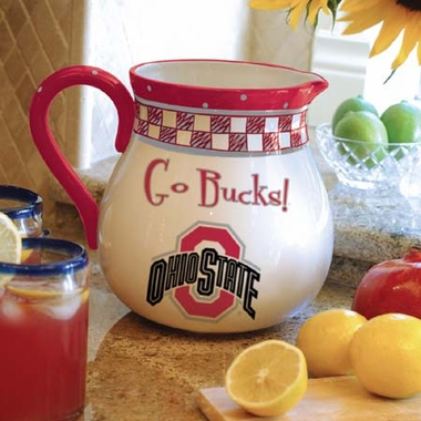 Ohio State Gameday Ceramic Pitcher