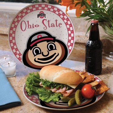Ohio State Gameday Ceramic Plate