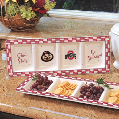 Ohio State Gameday Relish Tray