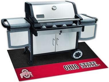 Ohio State Grill Mat