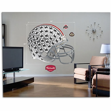 Ohio State Helmet Fathead Wall Graphic