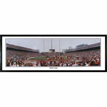 Ohio State Home Game Framed Panoramic Print