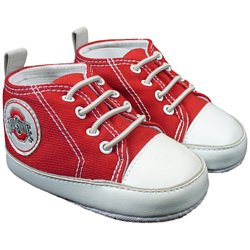 Ohio State Infant Soft Sole Shoe