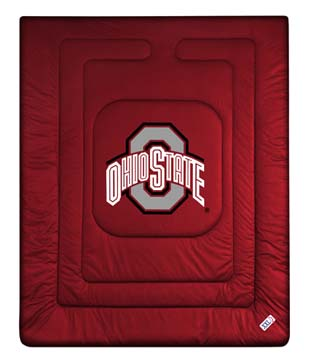 Ohio State Jersey Material Comforter