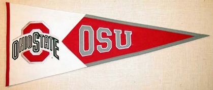 Ohio State Large Wool Pennant