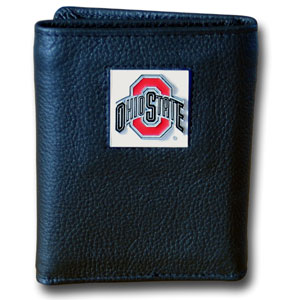 Ohio State Leather Trifold Wallet (F)