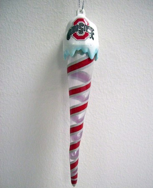 Ohio State Light Up Icicle Ornament