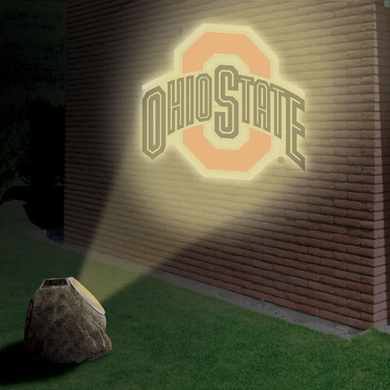 Ohio State Logo Projection Rock