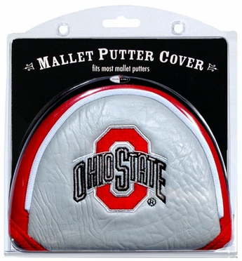 Ohio State Mallet Putter Cover
