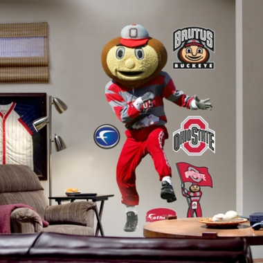 Ohio State Mascot Fathead Wall Graphic