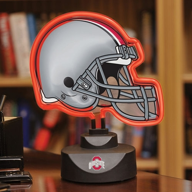 Ohio State Neon Display Helmet