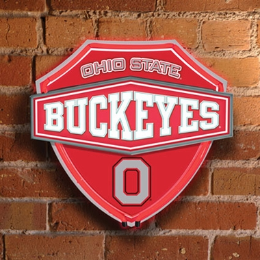 Ohio State Neon Shield Wall Lamp