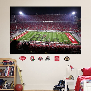 "Ohio State ""Ohio"" Stadium Fathead Wall Graphic"