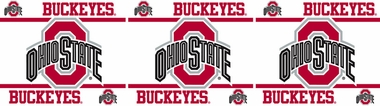 Ohio State Peel and Stick Wallpaper Border