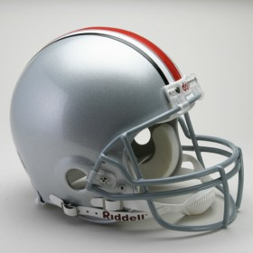 Ohio State Riddell Full Size Authentic Helmet