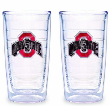 Ohio State Set of TWO 16 oz. Tervis Tumblers