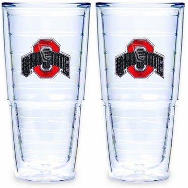 "Ohio State Set of TWO 24 oz. ""Big T"" Tervis Tumblers"