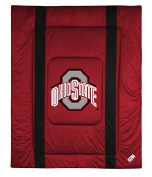Ohio State SIDELINES Jersey Material Comforter