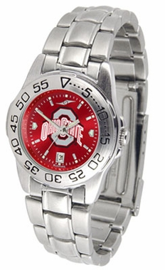 Ohio State Sport Anonized Women's Steel Band Watch