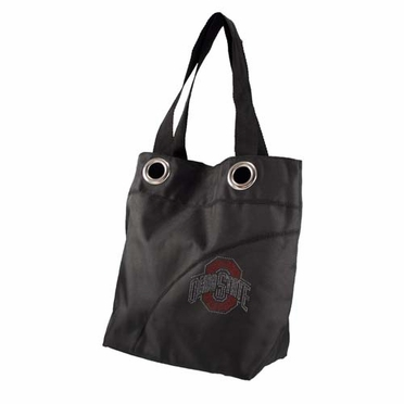 Ohio State Sport Noir Sheen Tote